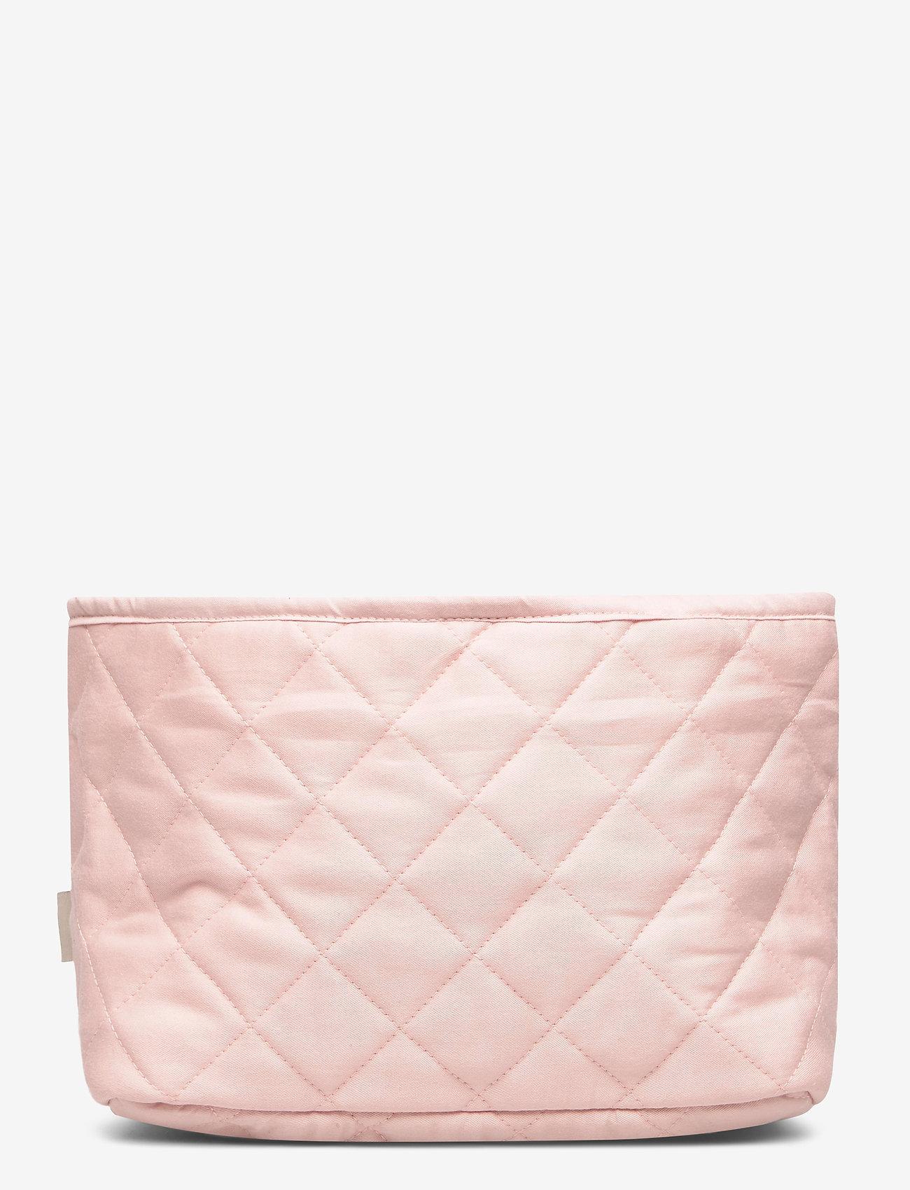 Cam Cam Copenhagen - Quilted Storage Basket, Set of 2 - OCS Blossom Pink - przechowywanie - blossom pink - 1