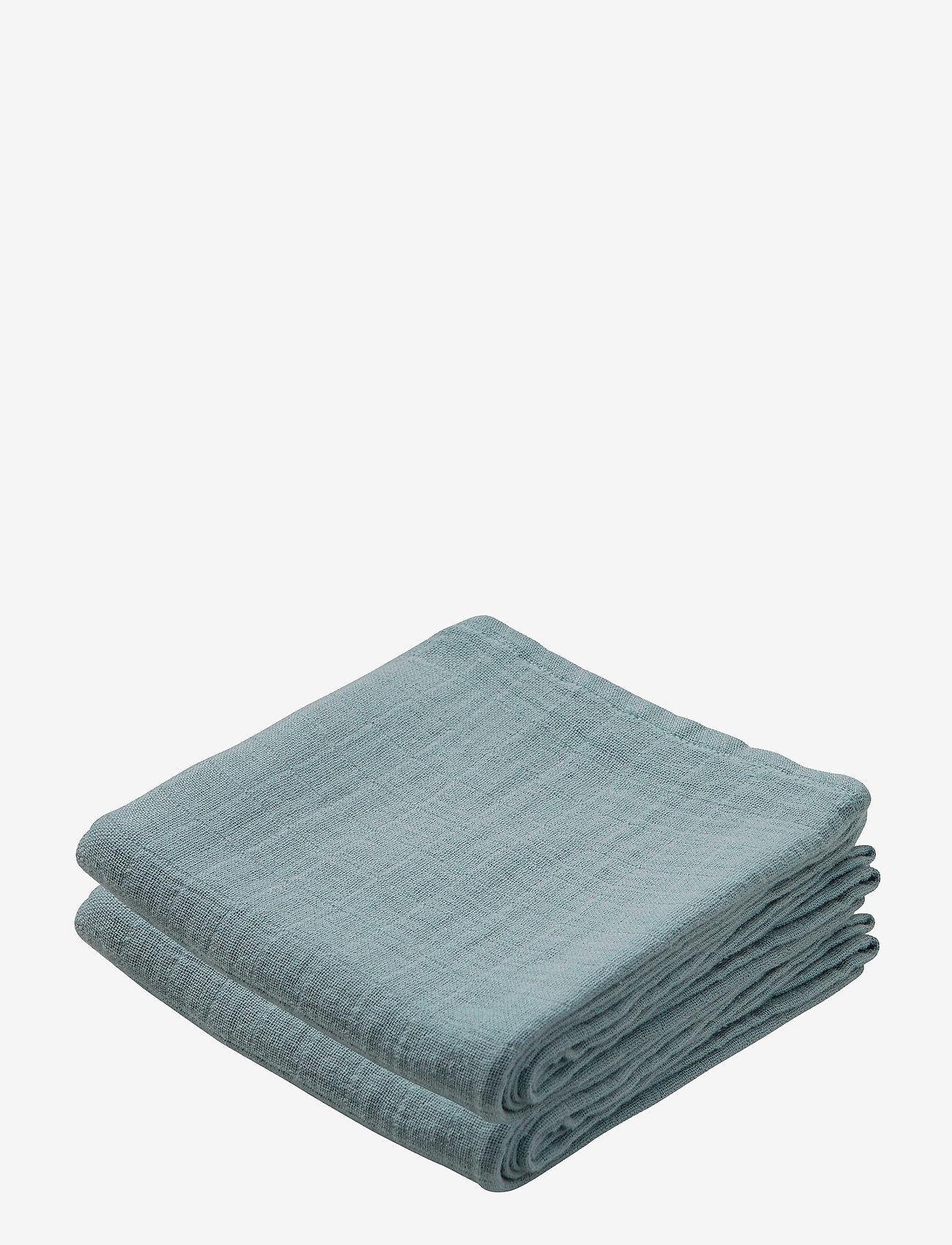 Cam Cam Copenhagen - Muslin Cloth 2 Pack - akcesoria - petroleum - 0