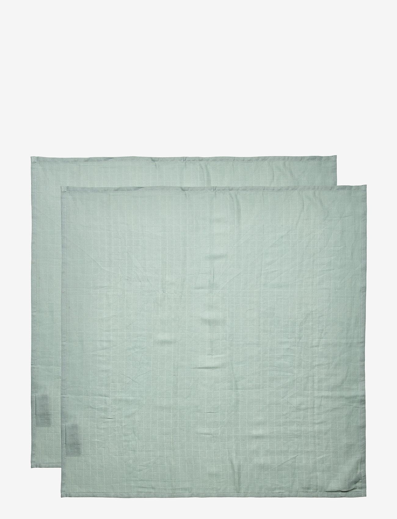 Cam Cam Copenhagen - Muslin Cloth 2 Pack - akcesoria - petroleum - 1