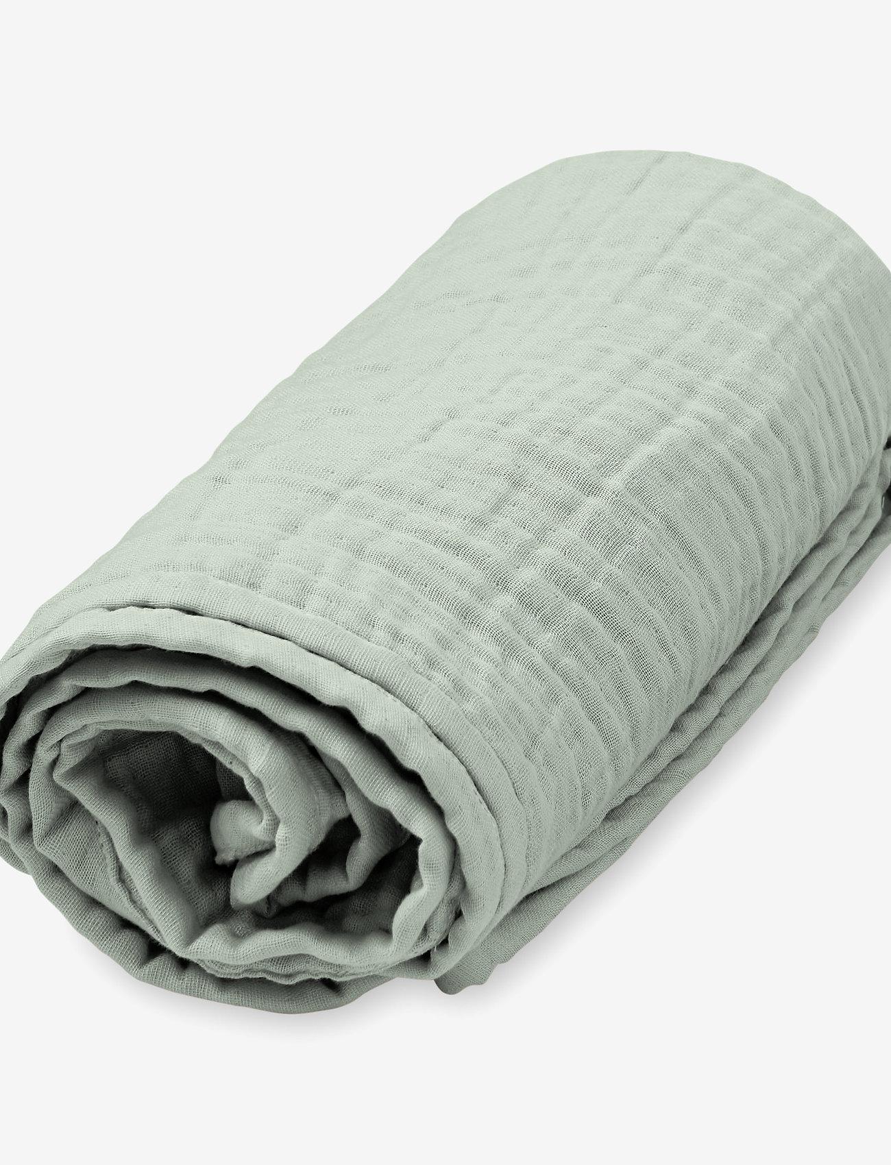 Muslin Blanket, Baby - GOTS Dusty Rose