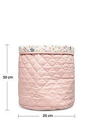Cam Cam Copenhagen - Quilted Storage Basket, Medium - OCS Grey - przechowywanie - blossom pink - 4