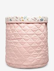 Cam Cam Copenhagen - Quilted Storage Basket, Medium - OCS Grey - przechowywanie - blossom pink - 2