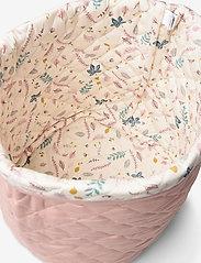 Cam Cam Copenhagen - Quilted Storage Basket, Medium - OCS Grey - przechowywanie - blossom pink - 3