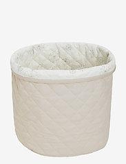 Cam Cam Copenhagen - Quilted Storage Basket, Medium - OCS Grey - przechowywanie - light sand - 0