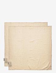 Cam Cam Copenhagen - Muslin Cloth 2 Pack - akcesoria - light sand - 2