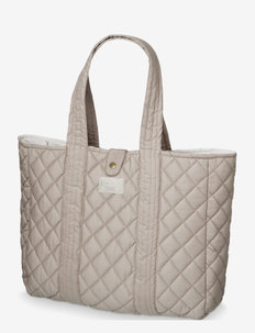 Quilted Tote Bag - totes & small bags - hazel