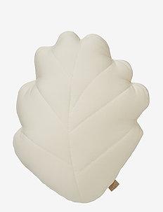 Leaf Cushion - decor - light sand