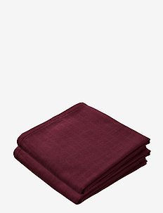 Muslin Cloth 2 Pack - akcesoria - bordeaux