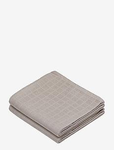 Muslin Cloth 2 Pack - akcesoria - light sand