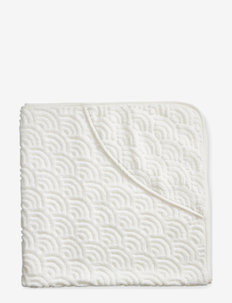 Towel, Baby, Hooded - GOTS - accessories - off-white