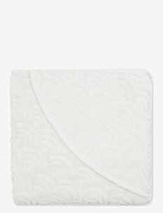 Towel, Toddler, Hooded - GOTS - accessories - off-white