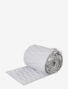 Cot Bumper - bed bumpers - classic grey
