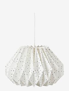 Origami Pendant Lamp Shade - wystrój domu - night sky