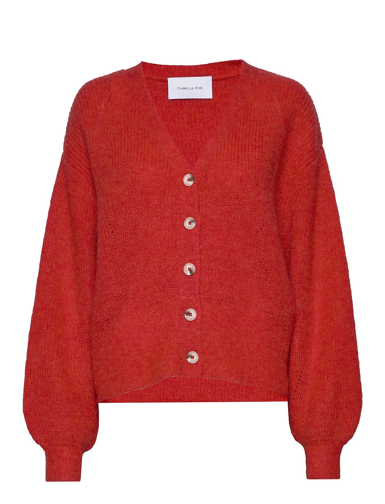 Camilla Pihl Precise cardigan - BRIGHT RED