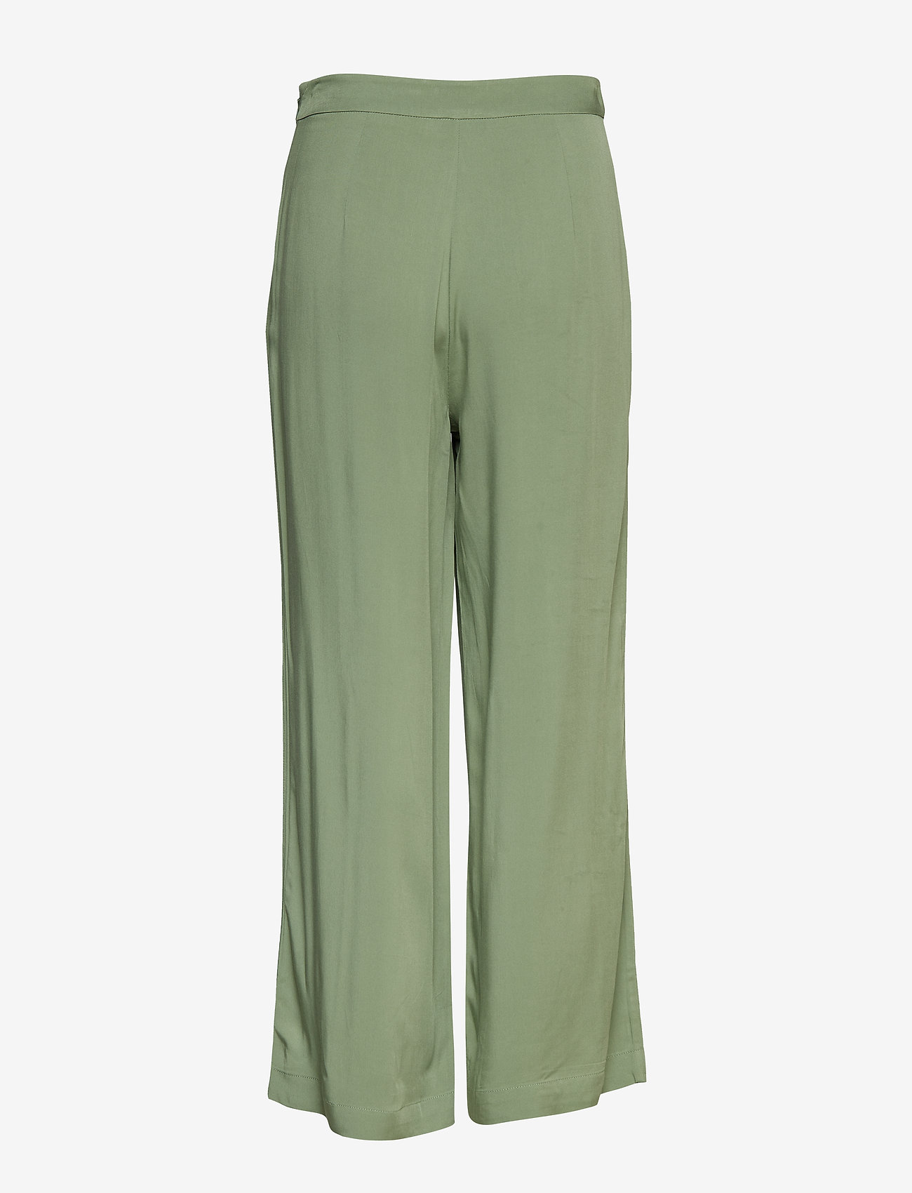 Camilla Pihl - Fancy Trousers - leveälahkeiset housut - washed army