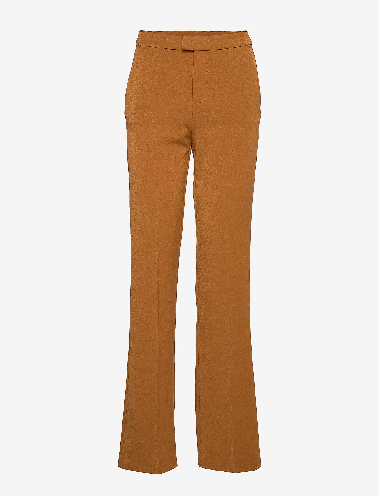 Camilla Pihl - Bankers - broeken med straight ben - camel - 0