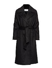 Camilla Pihl Copenhagen Coat - BLACK