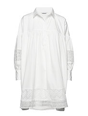 Mesima shirtdress - WHITE