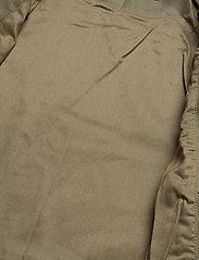 Camilla Pihl - Kendra Leather Jacket - skinnjackor - army - 3