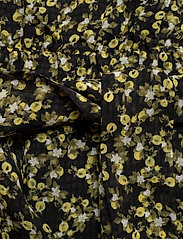 Camilla Pihl - Angelina Dress - midi dresses - black flower - 3
