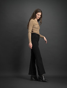 Bankers - spodnie proste - black