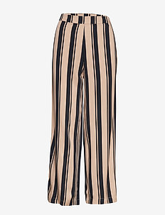 Fancy Trousers - NAVY/SAND STRIPE