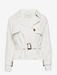 Solitude jacket - kurtki przejściowe - ecru