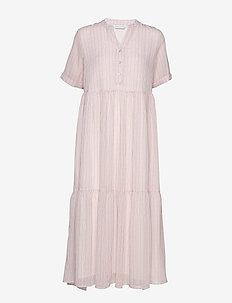 Flow dress - maxi sukienki - red stripe