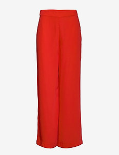 Vacation trouser - spodnie szerokie - bright red