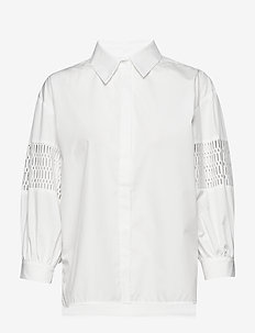 Puff shirt - WHITE