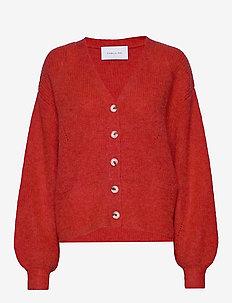 Precise cardigan - BRIGHT RED