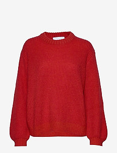 Madrid sweater - swetry - bright red