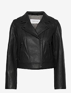 Soho Leather Jacket - skinnjakker - black