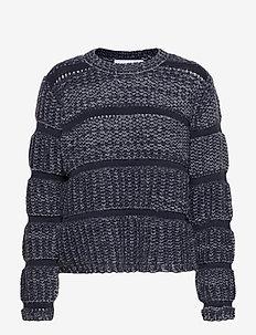 Titte Knit - pulls - navy melange