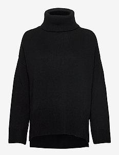 Fog Knit - pologenser - black