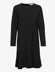 Berry Dress - midi kjoler - black