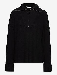 Nodi Rib Knit - pulls - black
