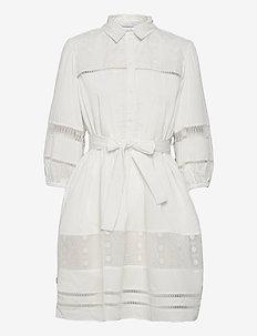 Katarina Dress - sommerkjoler - white