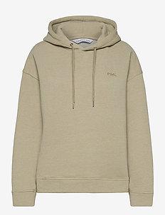 Isabelle Hoodie - hoodies - green melange