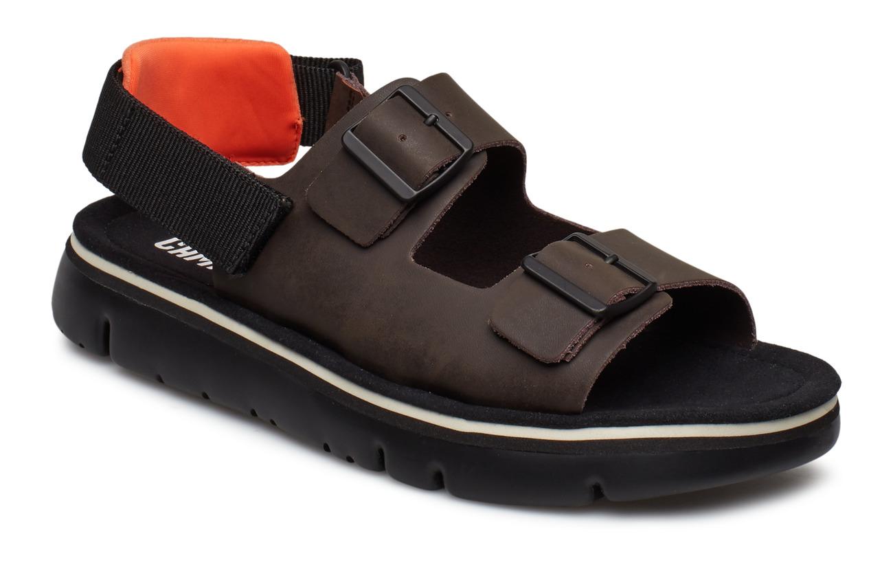 Camper Oruga Sandal - DARK BROWN