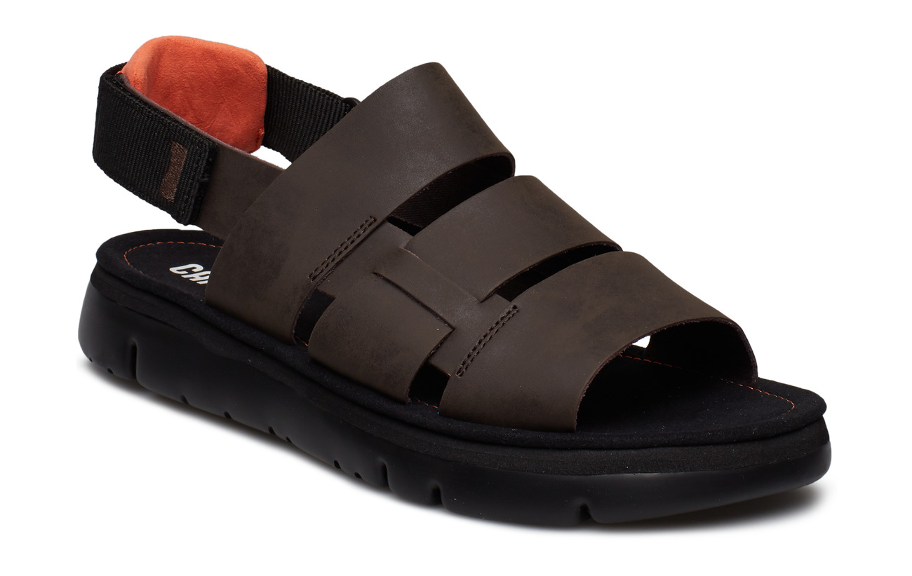 Camper Oruga Sandal - DARK BROWN