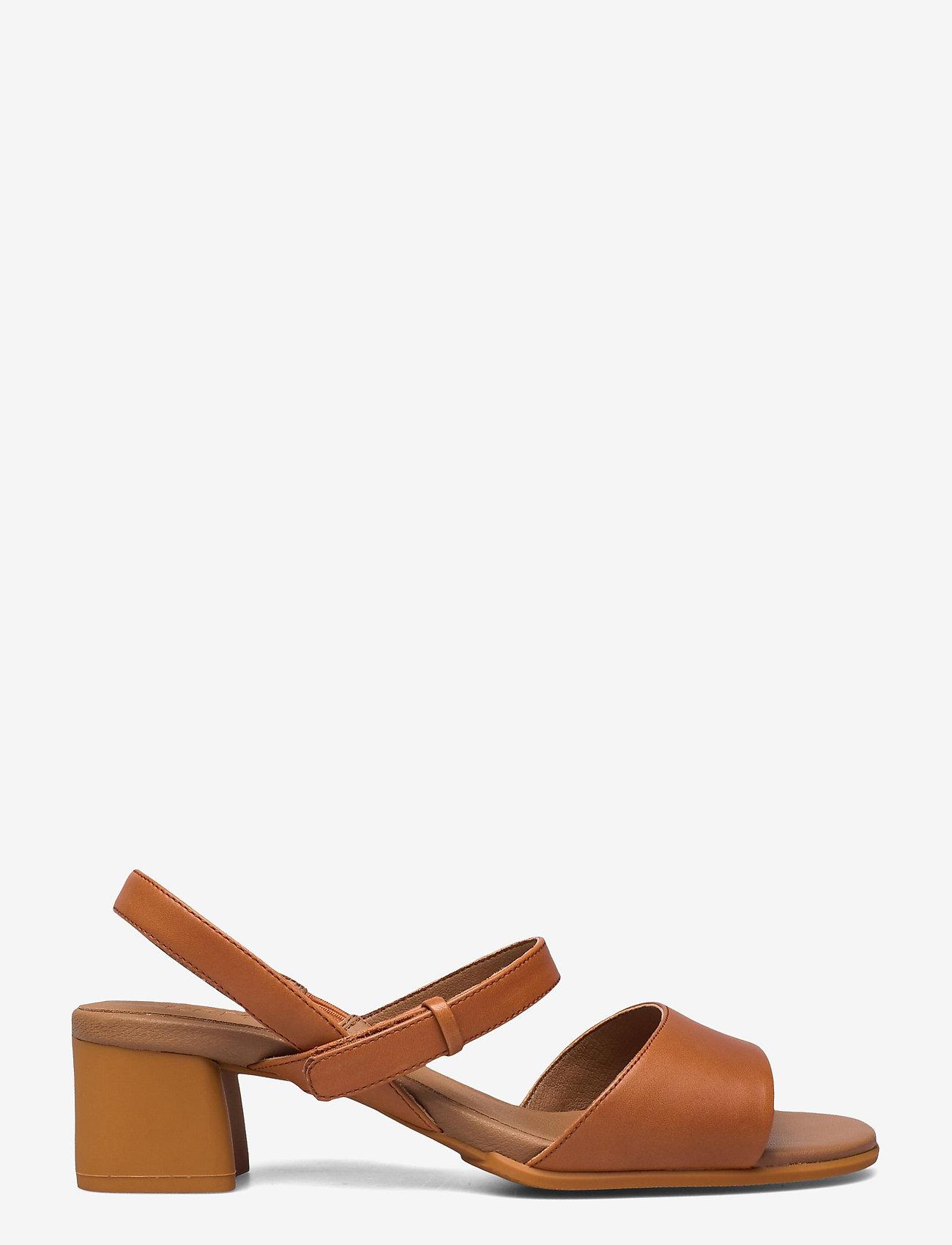 Camper - Katie Sandal - sandały na obcasie - medium brown - 1