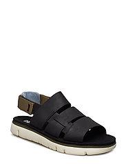 Oruga Sandal - BLACK