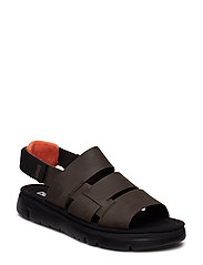Oruga Sandal - DARK BROWN