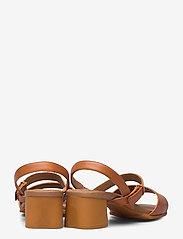 Camper - Katie Sandal - sandały na obcasie - medium brown - 4