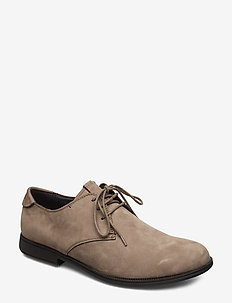 Mil - laced shoes - medium gray