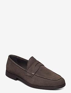 Truman - loafers - medium brown