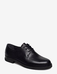 Iman - buty sznurowane - black