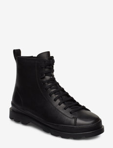 Brutus - laced boots - black