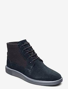Bill - desert boots - charcoal
